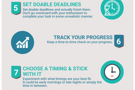 Tips to Overcome Procrastination That Actually Work Infographic