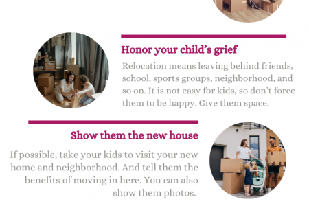 Tips to prepare your kids for an upcoming move Infographic