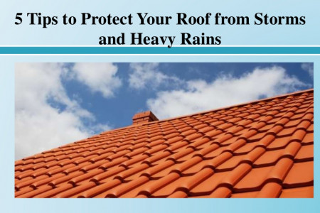 Tips to Protect Your Roof from Storms and Heavy Rains Infographic