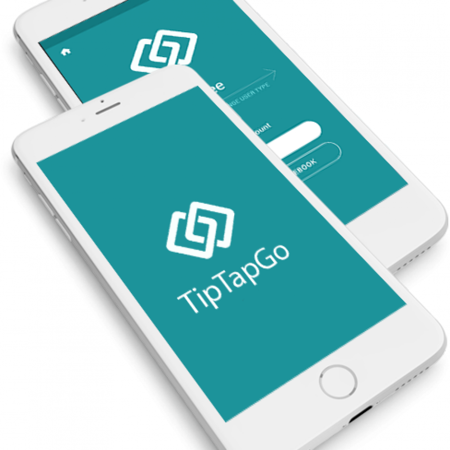 TipTapGo, a simple and secure payment app Infographic