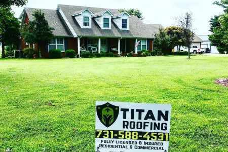 Titan Roofing & Construction - the best Roofing Company in Jackson, TN Infographic