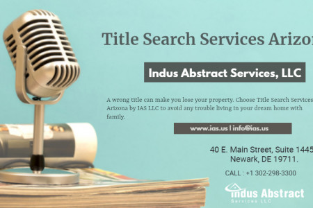 Title Search Services Arizona Infographic