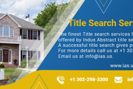 Title Search Services Florida – IAS, LLC Infographic