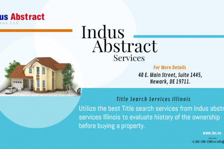 Title Search Services Illinois Infographic