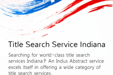 Title Search Services Indiana Infographic