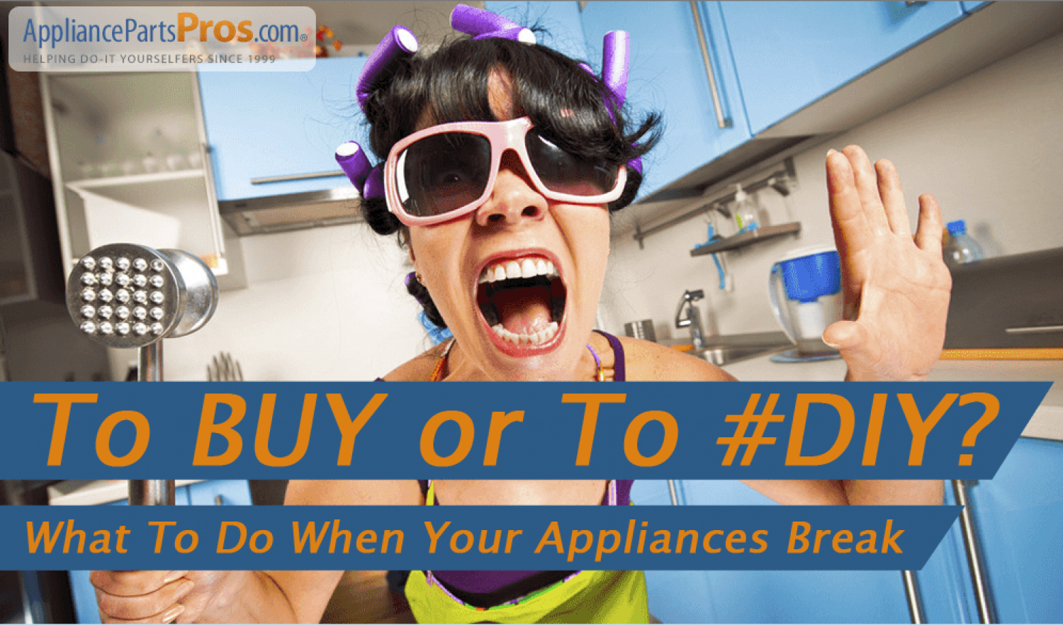 To BUY or To #DIY? What To Do When Your Appliances Break  Infographic