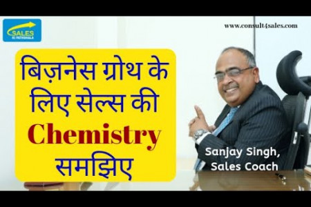 To Grow Business Exponentially - सेल्स की Chemistry समझिए – By Sanjay Singh, Sales coach Infographic