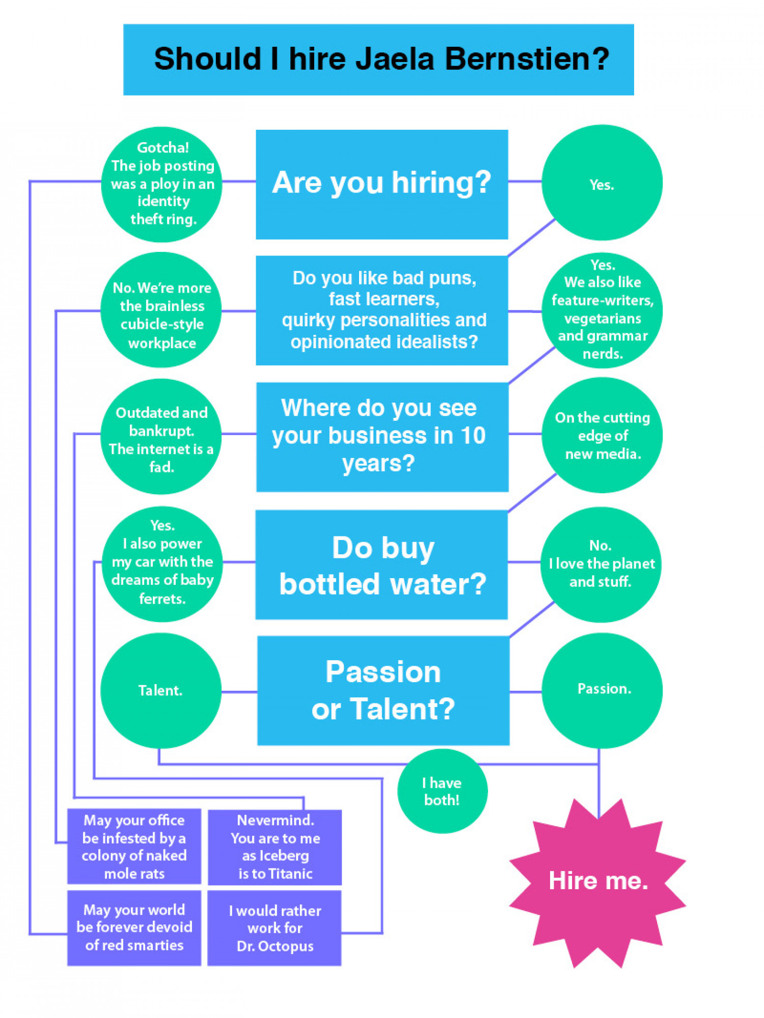 To Hire or Not To Hire Infographic
