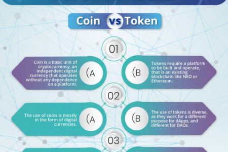 Token vs Coin: What's the Difference? Infographic