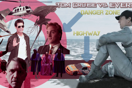 Tom Cruise Vs. Everything Infographic