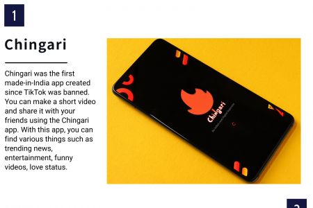 Top 03 Short Video App Made In India Infographic