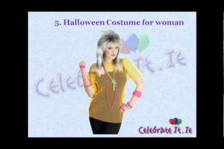Top 10 adult Halloween Costumes in Ireland Infographic