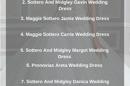 Top 10 Ball Wedding Gown Dresses This Year Infographic