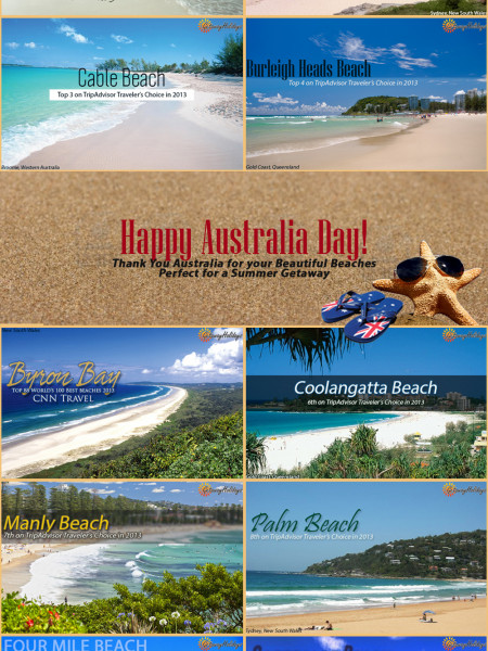 Top 10 Best Beaches in Australia  Infographic