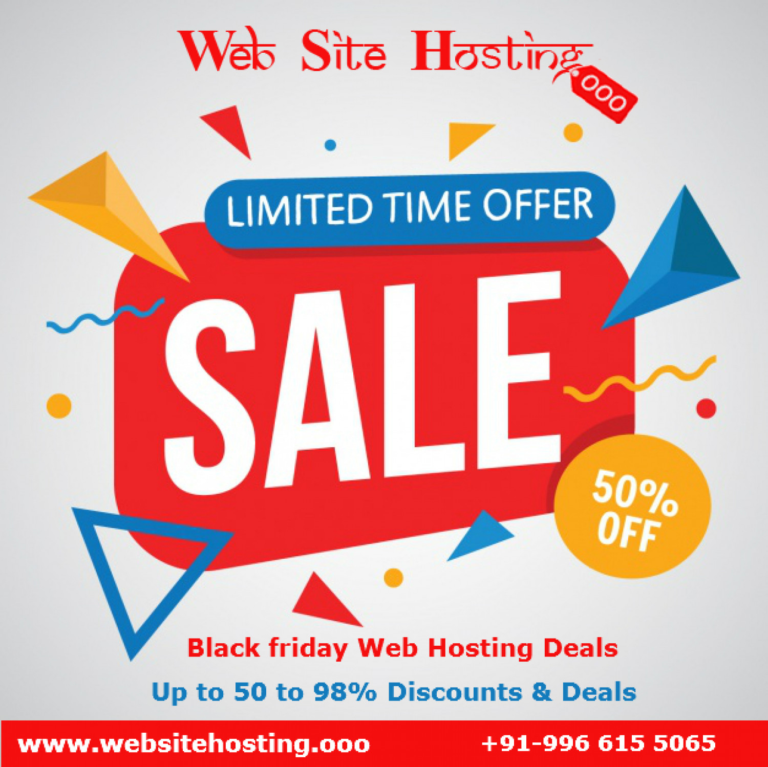 Top 10+ Black Friday Web Hosting Deals in 2017 Infographic