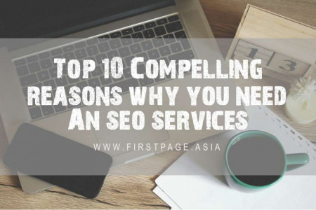 Top 10 Compelling Reasons Why You Need an SEO Services Infographic