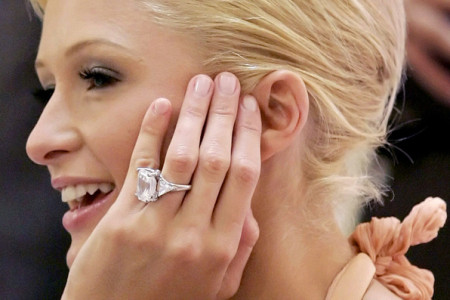 Top 10 Famous Celebrity Engagement Rings  Website Infographic