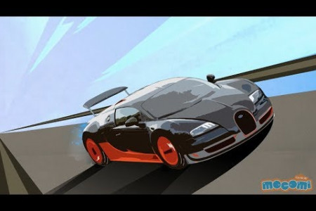 Top 10 Fastest Cars in the World Infographic