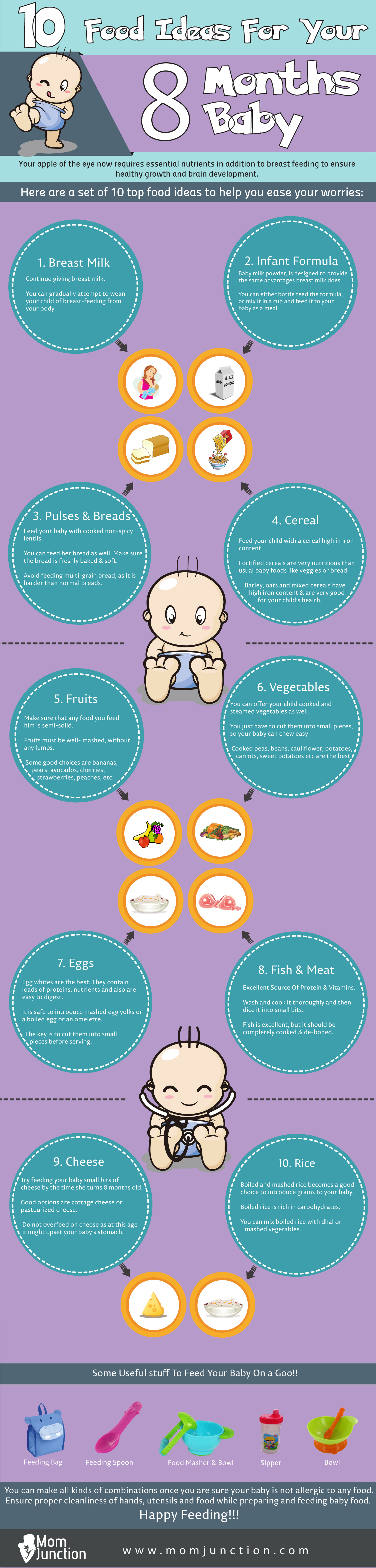 bfe3b8d20 Top 10 Food Ideas For Your 8 Months Baby