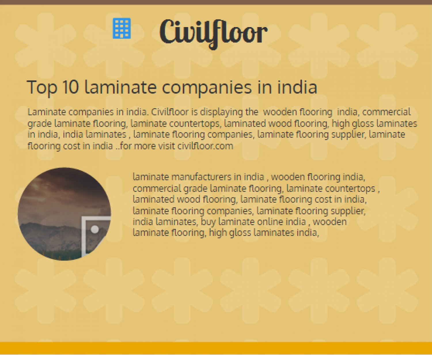 Top 10 laminate companies in india Visually