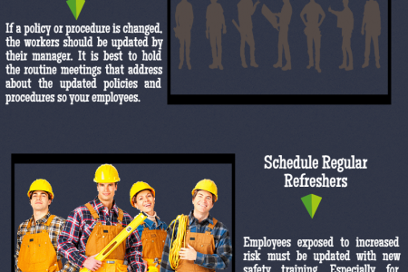 Top 10 Tips for Workplace Safety Infographic