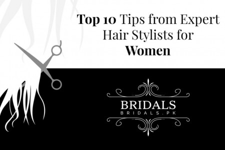 Top 10 Tips from Expert Hair Stylists for Women Infographic