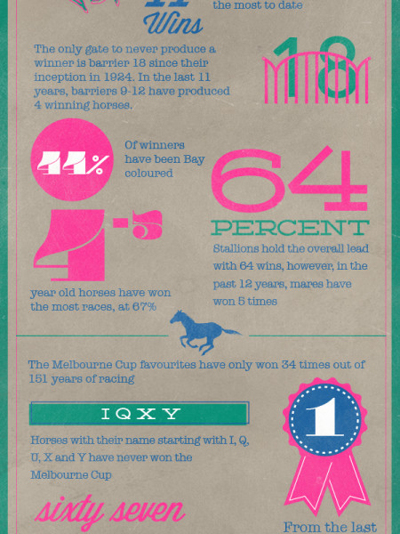Top 10 Tips To Pick a Winner in the 2013 Melbourne Cup Infographic