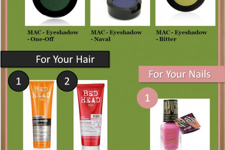 Top 12 Beauty Care Products Infographic