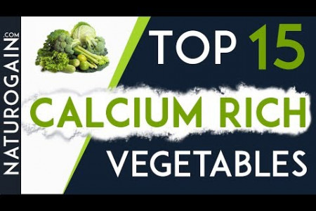 Top 15 Calcium Rich Vegetables for Healthy Bones and Joints Infographic