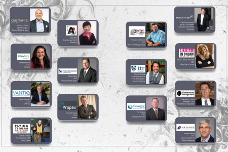Top 20 Pioneering CEOs of 2020 Part 2 Infographic