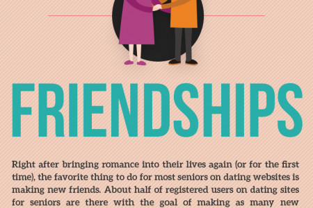 Top 3 Amazing Things Senior Dating Sites are Used For Infographic