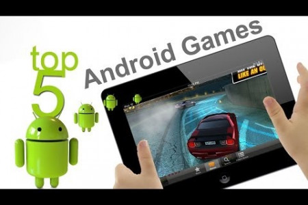 Top 5 Best Free Android Games in 2014 Infographic