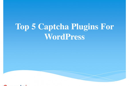 Top 5 Captcha Plugins For WordPress Infographic