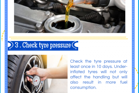 Top 5 Car Maintenance Tips for A Worry-Free Drive Infographic