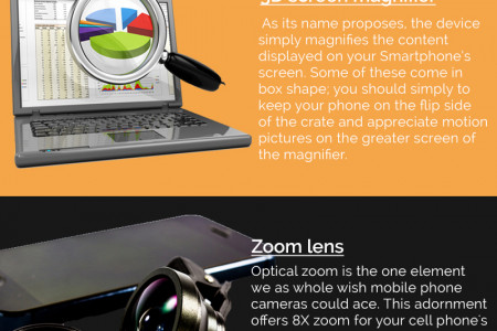Top 5 Cool Accessories for Your New Android Smartphone - Infographic Infographic