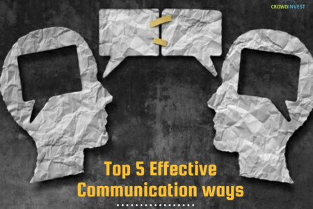 Top 5 Effective ways of communication Infographic