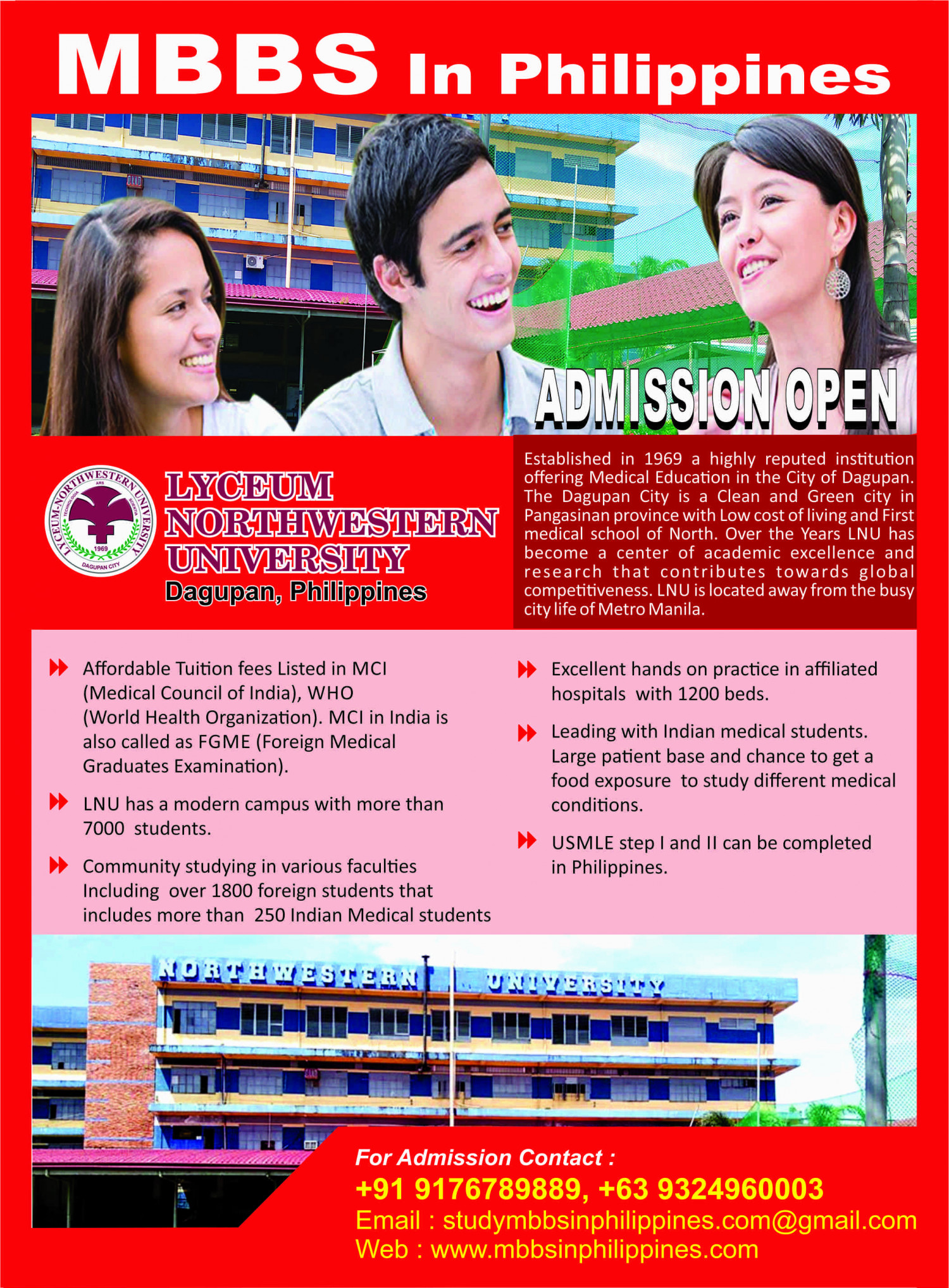 Top 5 Factors to Consider for Studying MBBS Abroad - MBBS Philippines Infographic
