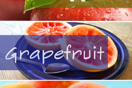 Top 5 Fat Burning Super Fruits Infographic