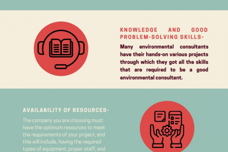 Top 5 key considerations before hiring environmental consultants Infographic