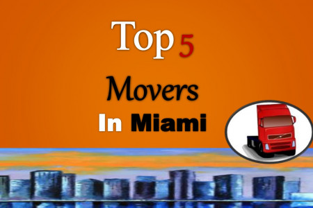 Top 5 Movers In Miami, FL Infographic