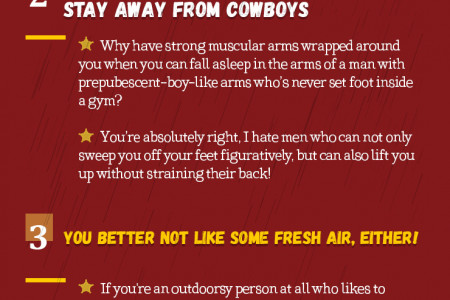 Top 5 Reasons Why Cowboy Dating Might NOT Be For You Infographic