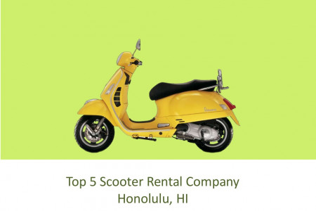Top 5 Scooter Rental Company Honolulu, HI Infographic