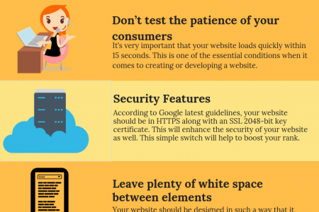 TOP 5 WEBSITE DESIGN PRINCIPLES THAT WILL HELP BOOST YOUR SALES IN 2018 Infographic