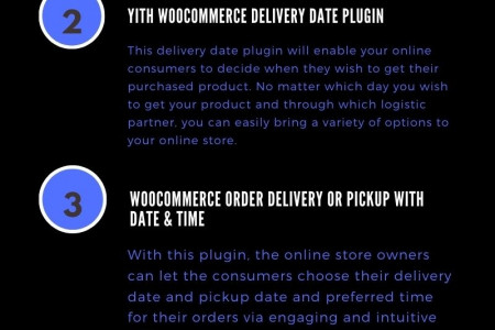Top 5 WooCommerce Delivery Date Plugin to Delight Your Audience in 2020 Infographic