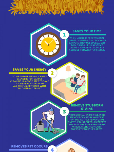 Top 6 Benefits to Hire Professional Cleaning Services Infographic