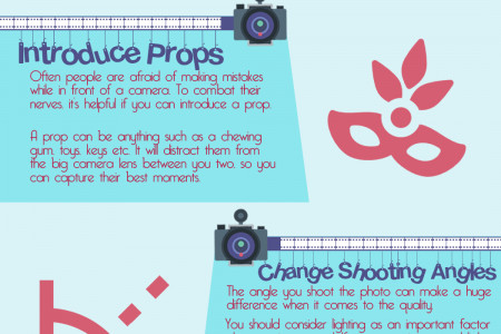 Top 6 Portrait Photography Tips For Beginners Infographic
