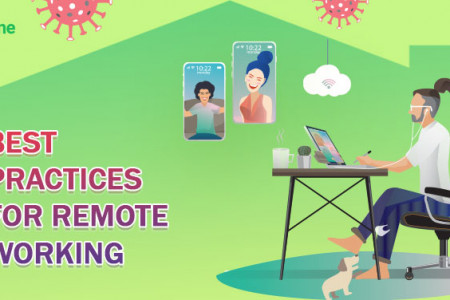 Top 7 Best Practices For Remote Working Infographic