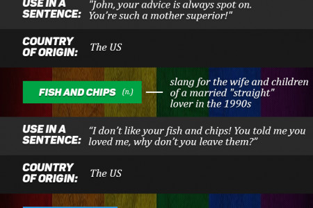 Top 7 Most Mind-blowing Gay Slang Phrases From Around The World Infographic