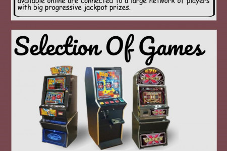 Top 7 reasons to play slots online Infographic