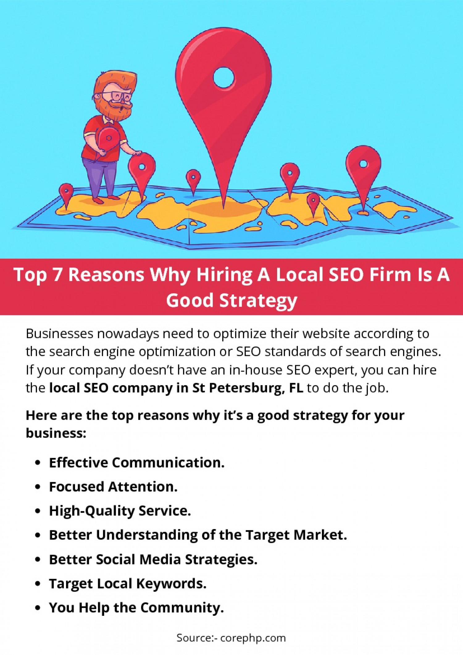 Top 7 Reasons Why Hiring A Local SEO Firm Is A Good Strategy Infographic
